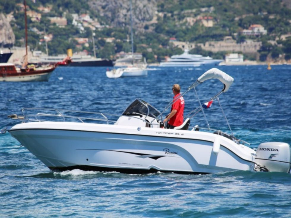 Speed boat rental france